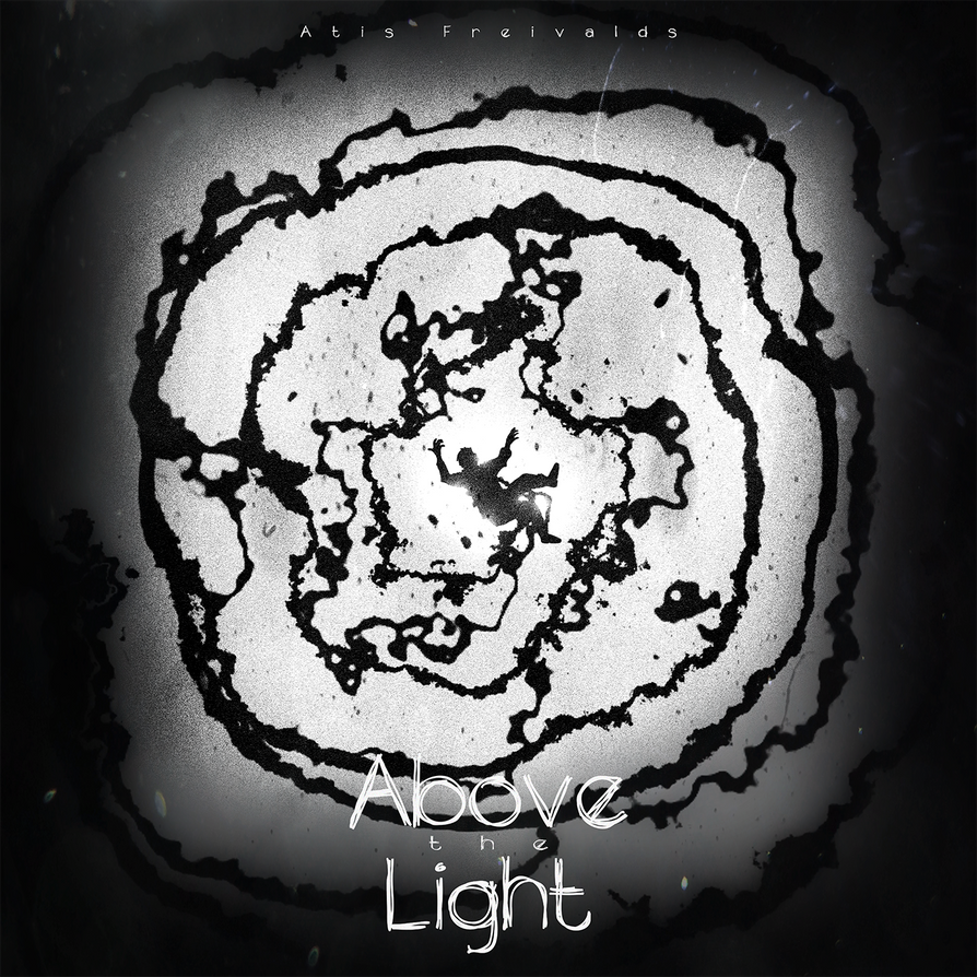 ''Above the Light'' album cover by PMHQ