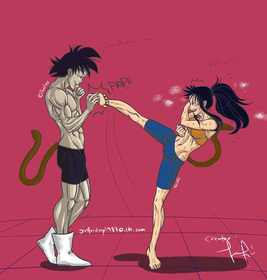 CP: Turles Vs Ai By FryFridaY On DeviantArt