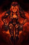 Persephone, mistress of magma