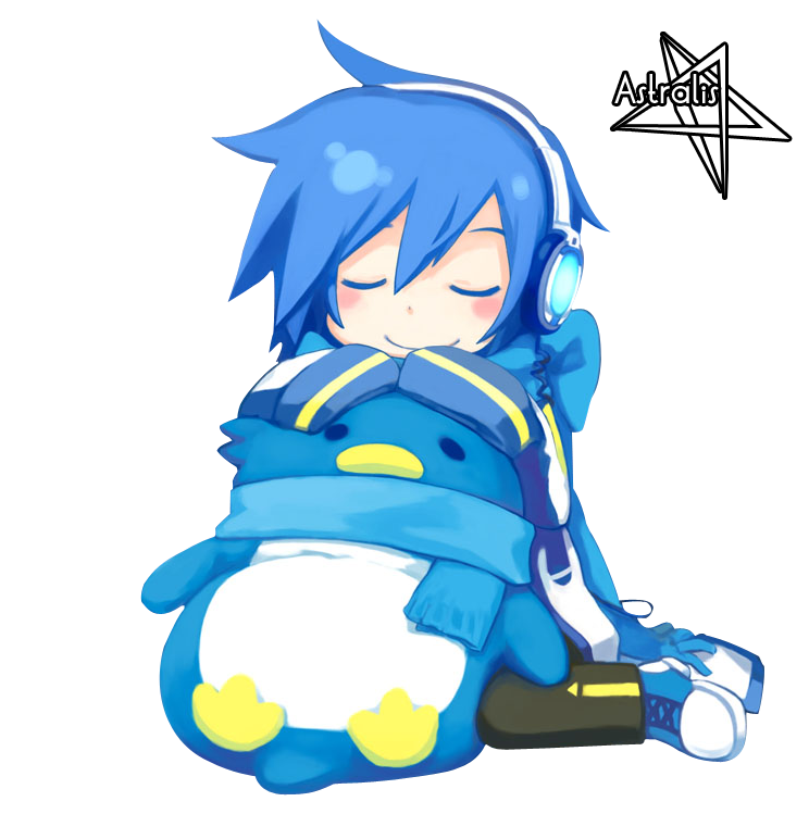 Render's vocaloid [1er pack] Kaito_sleeping_by_InverseEcho