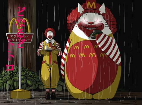 McDonalds Totoro