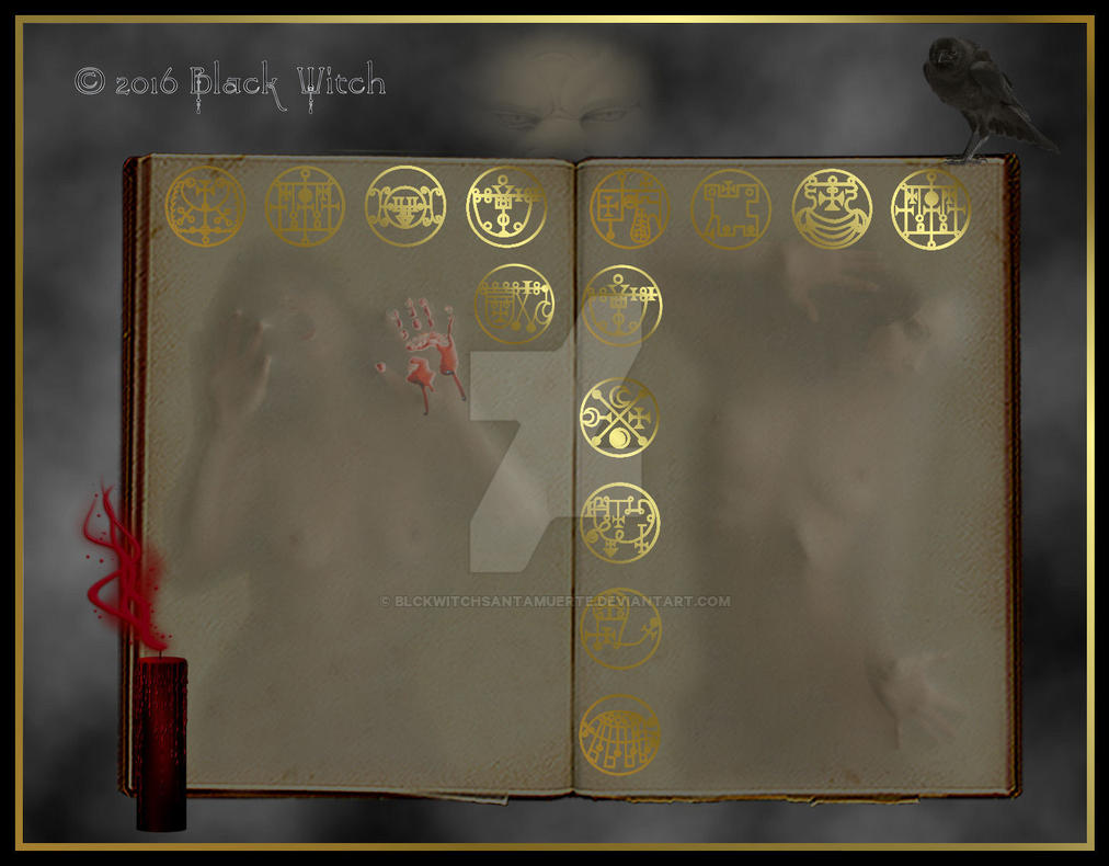 Book Of Souls by B1ackWitch