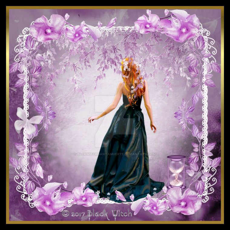 Spring Goddess by B1ackWitch