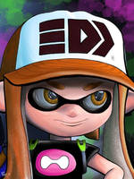 SquidGirl by Ronald Rosales by kokiemonstr07