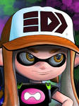 SquidGirl by Ronald Rosales