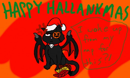 Happy Hallankmas! by AuthorNumber2