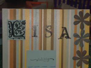 Lisa's Card