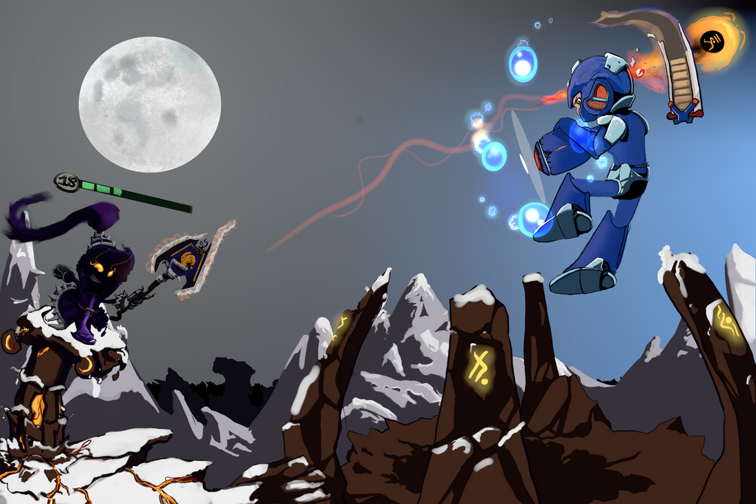 Boss Fight : Veigar vs Megaman by Goupillage
