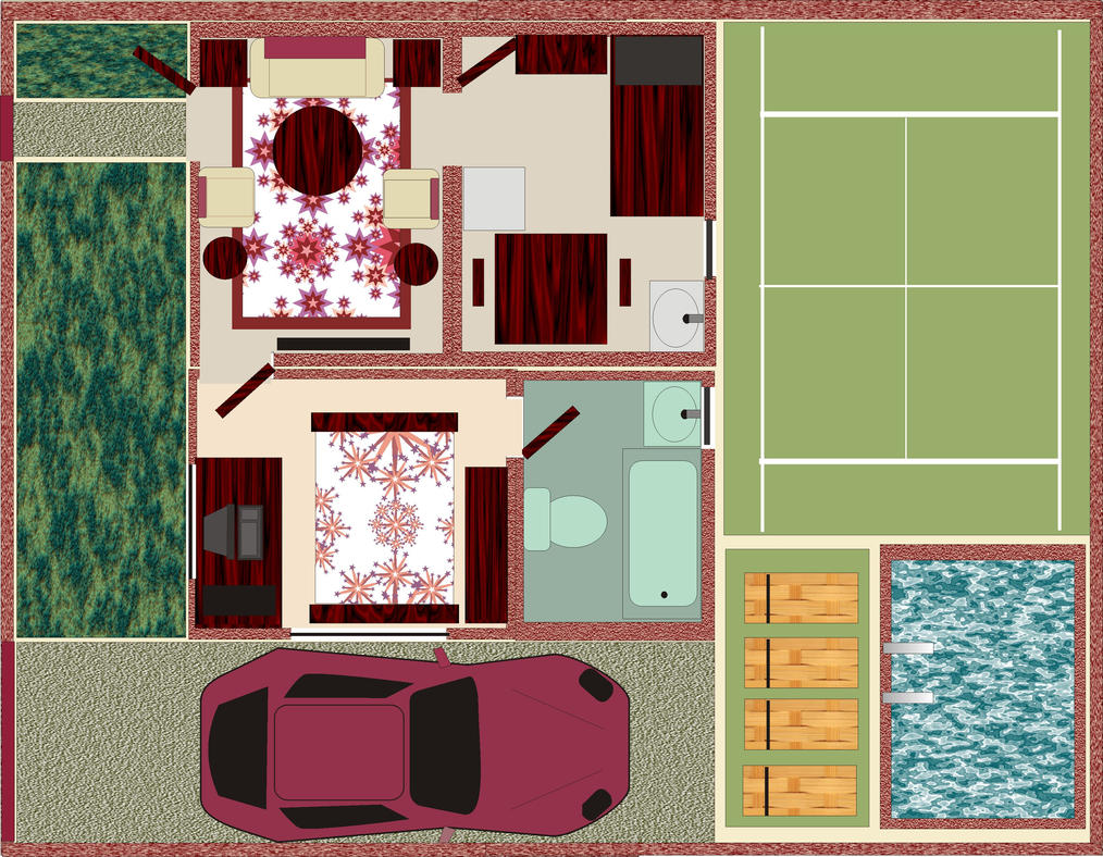 Dream House Plans House Beautifull Living Rooms Ideas