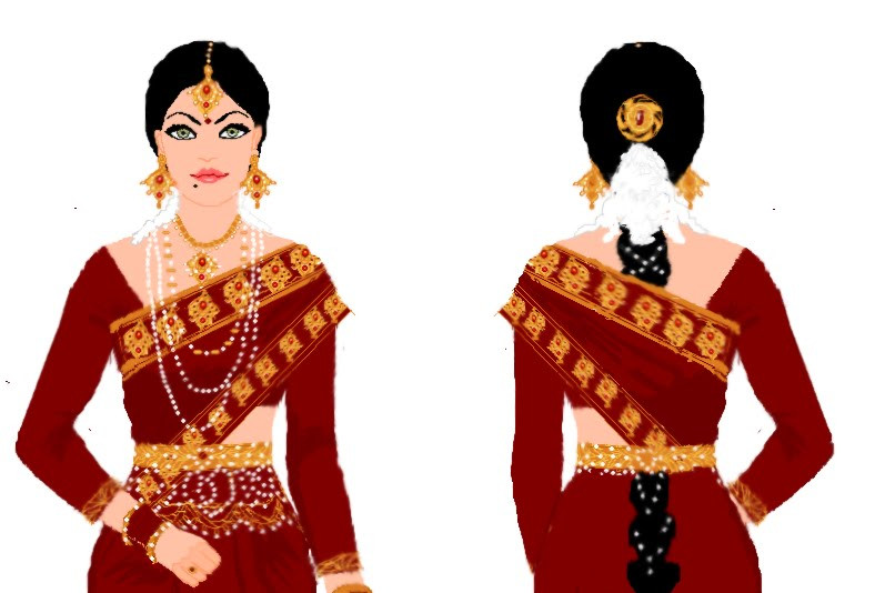 Southern Indian Traditional Wear by Preettisen