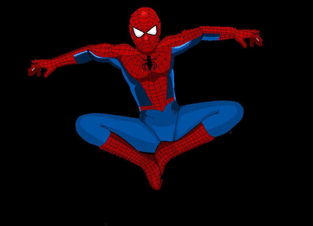 Friendly neighbourhood Spiderman by Preettisen