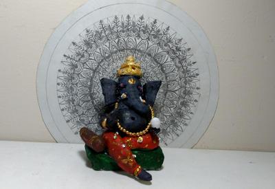Ganesha-the elephant god by Preettisen