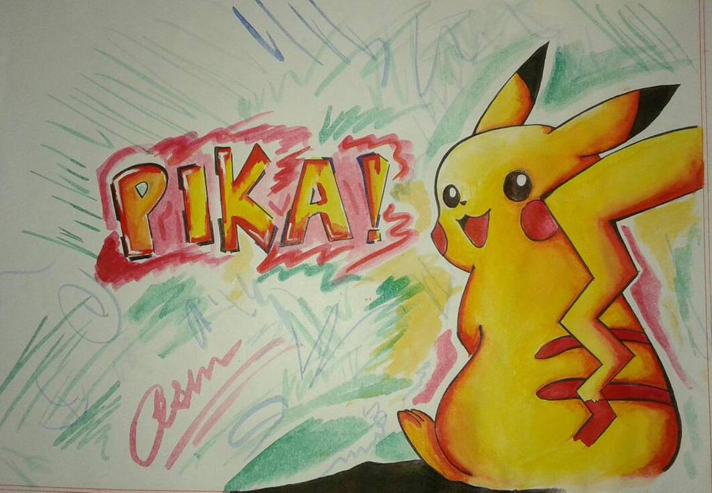 pikachu 500 by Akhansha by Akhansha