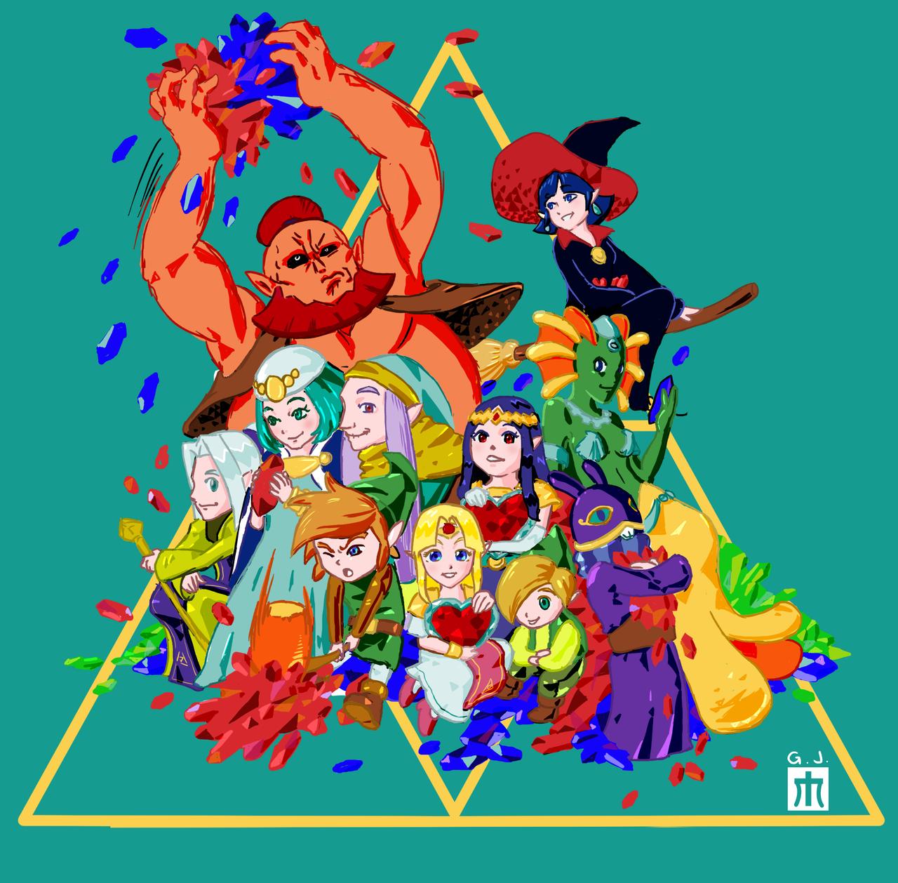 The Legend Of Zelda A Link Between Worlds Wallpaper 35777 Movieweb