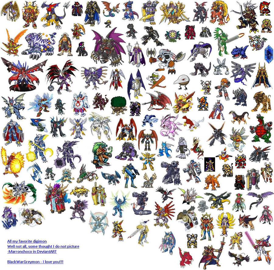 List Of Digimon With Pictures 117