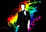 Rainbow Man by Buxtheone
