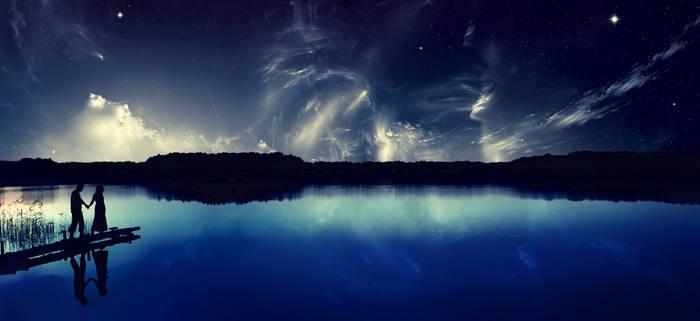 Lake by Buxtheone