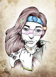 Gamer Girl by Buxtheone