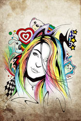 Rainbow Girl by Buxtheone
