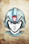 Mega Man by Buxtheone