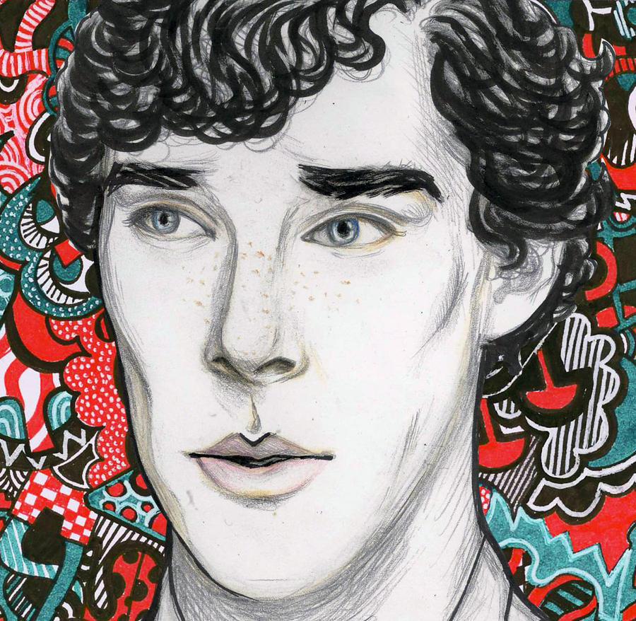 Freckled Sherlock by FionaBasta