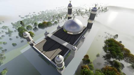 Masjid Al Baraka IV by hamadahere