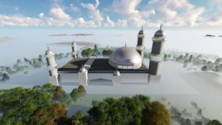 Masjid Al Baraka V by hamadahere