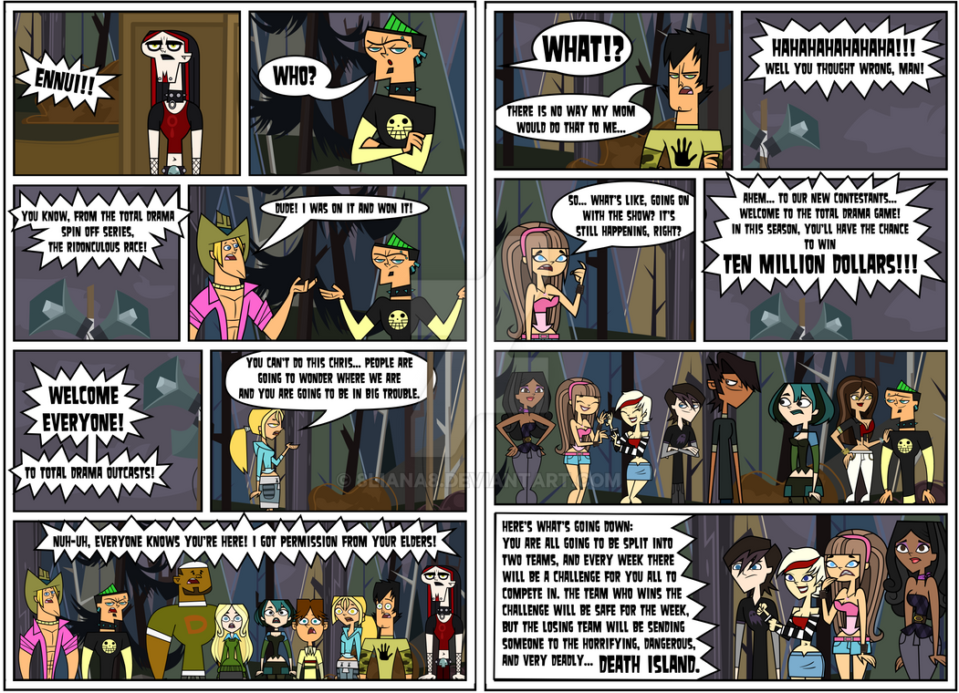 TDO - Episode 1 Page 11,12 by 8liana8 on DeviantArt