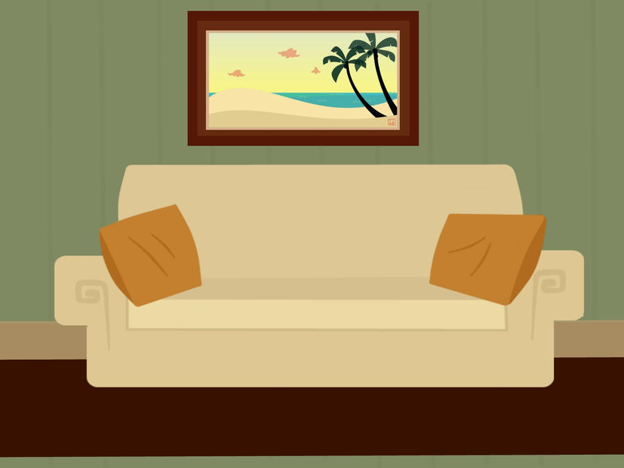 Hwo To Draw A Living Room Scene