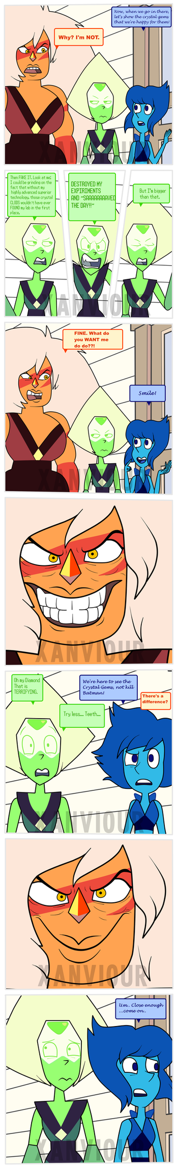 Smile, Jasper! by Xanviour