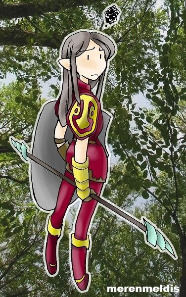 a warden of Mirkwood (Lotro) by h-muroto