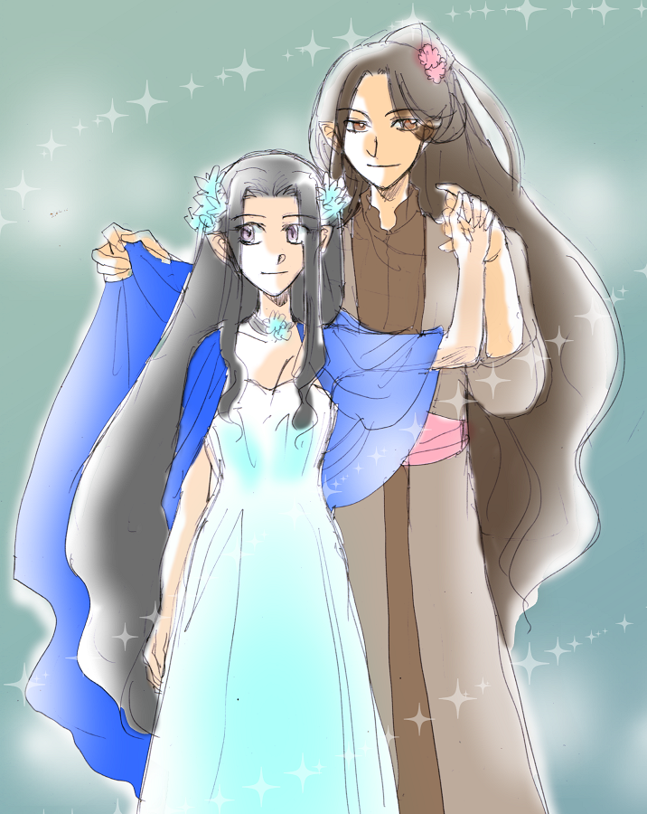 We Are Music -Daeron and Luthien- by h-muroto