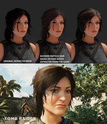 Shadow of the Tomb Raider Purehair Mimic Update #2