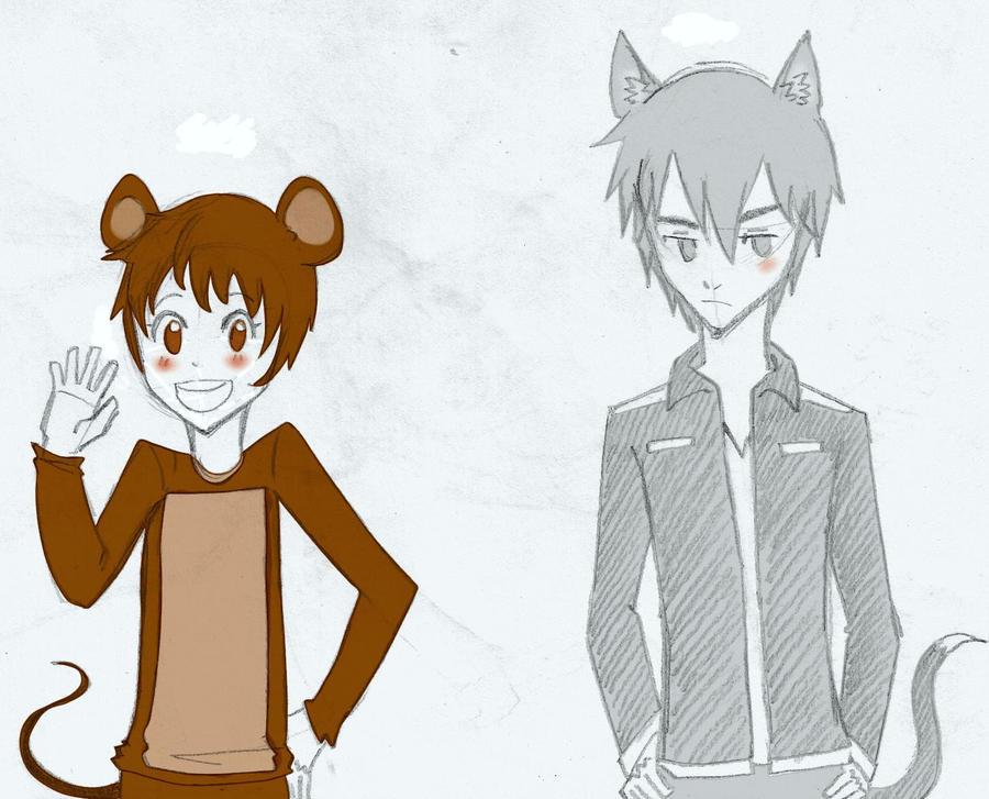 Human!(Tom and Jerry) - Sketchdump by MizukiNeko96 on ...