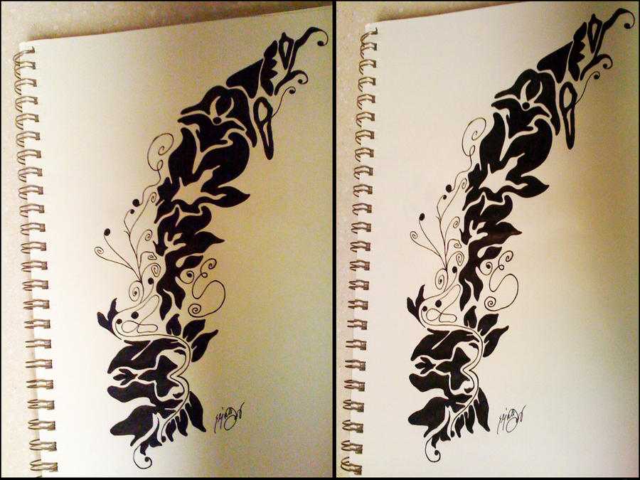 damask tattoo refs by scullyiza on deviantart. Black Bedroom Furniture Sets. Home Design Ideas