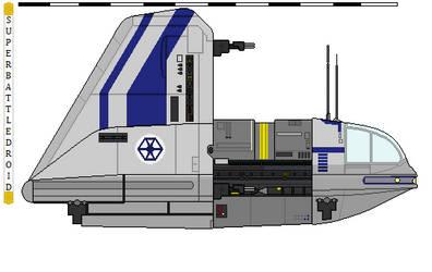 Separatist Sheathipede shuttle by superbattledroid