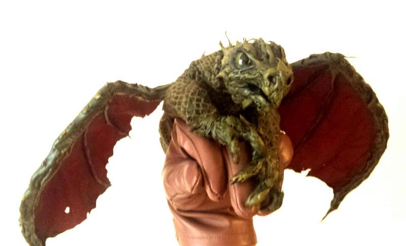 Dragon handpuppet by Zaza-Art