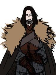 WIP- Eddard Stark by Anthenora