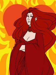 ASOIAF: Melisandre of Asshai by Anthenora