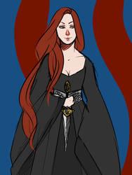 REDO: Catelyn Stark by Anthenora