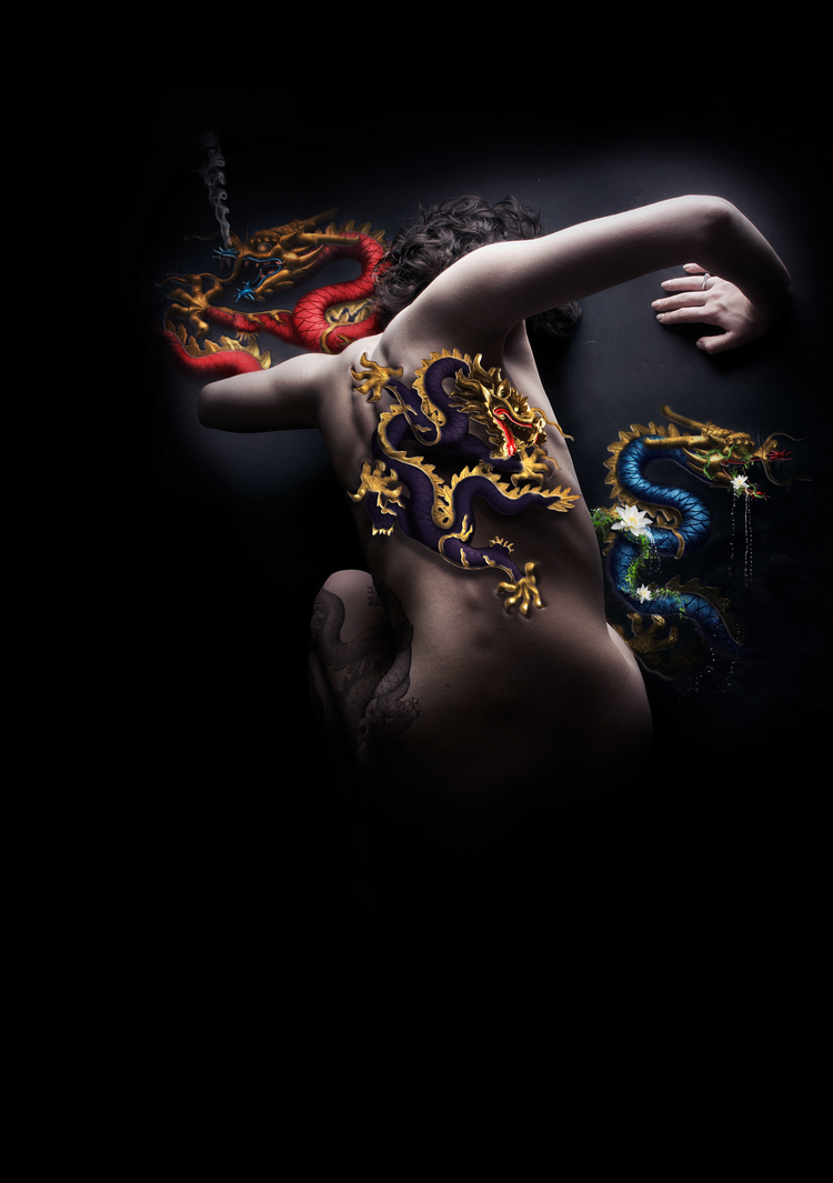 The Girl with the Dragon Tattoo by Zeete