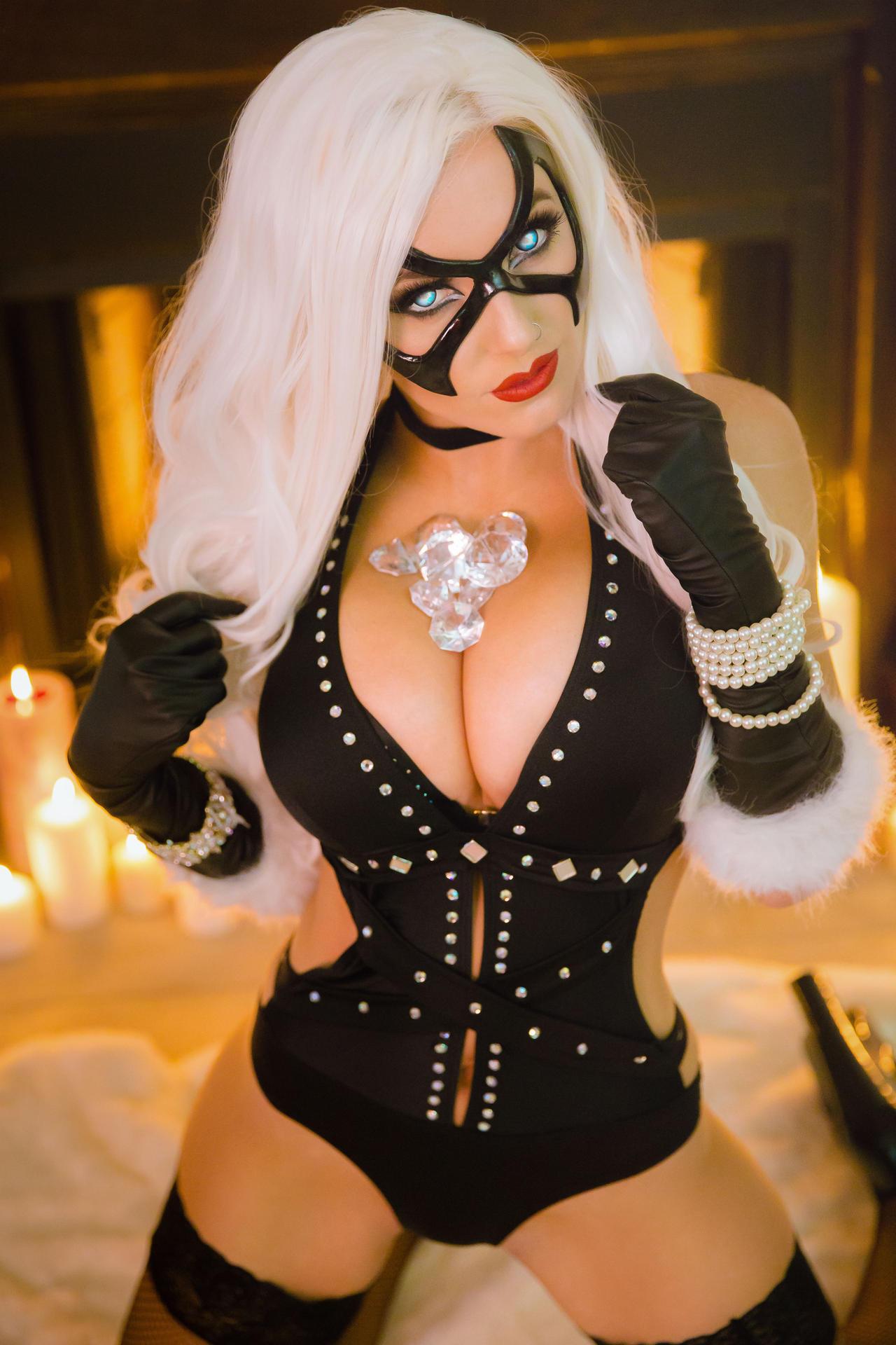 Jessica Nigri Black Cat Photo Shoot