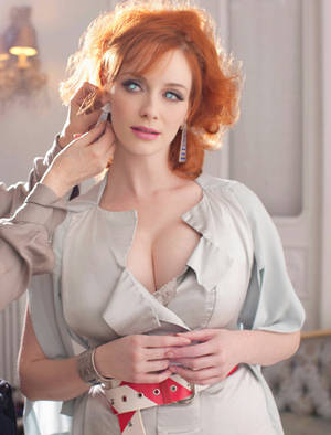 Christina Hendricks Mindlessl Plaything