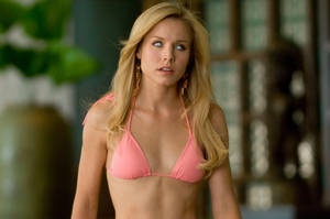 Kristen Bell Empty-Headed Bikini Slave