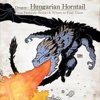 Hungarian Horntail by SzokeKissMarton