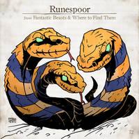 Runespoor by SzokeKissMarton