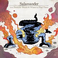 Salamander by SzokeKissMarton