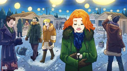 Karacsonyi novella illusztraciok 2/6 by SzokeKissMarton