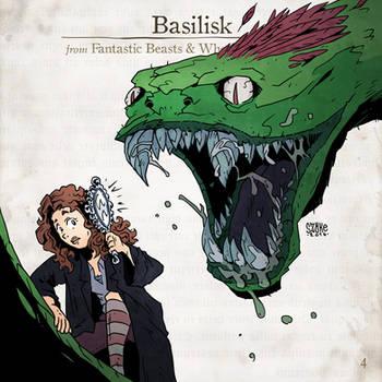 Basilisk by SzokeKissMarton