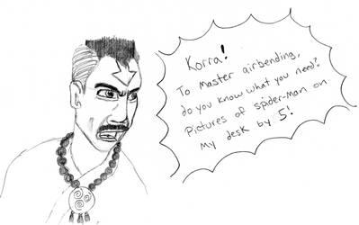 Legend of Korra: JK Tenzin